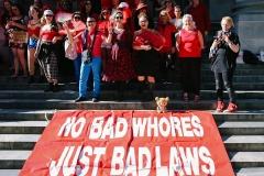 Melbourne Sex Worker Protest 2017